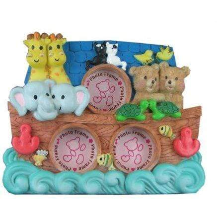 GGI ART_AND_CRAFT_SUPPLY Noah's Animal Ark Multi Photo Picture Frame