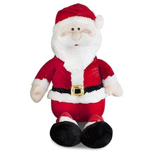 Gitzy TOY_FIGURE Gitzy Jumbo Stuffed Santa Plush 20""