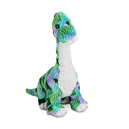 Gitzy TOYS_AND_GAMES Gitzy Tie Dye Stuffed Dinosaur Toy - Stuffed Animal for Kids - Plush Brachiosaurus