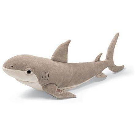 GUND Toy Gund Sharpie Singing Shark Singing Stuffed Animal - Electronic Plush Toy for Kids