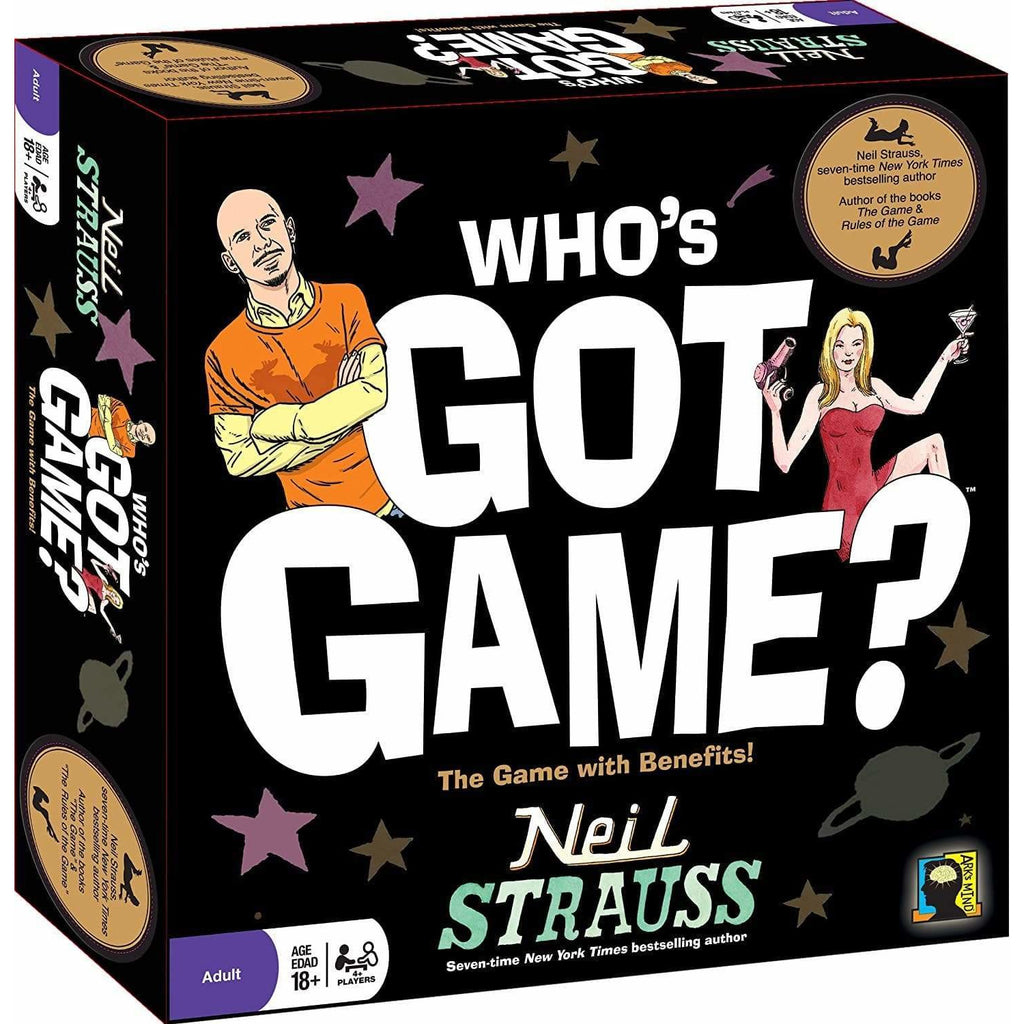 Neil Strauss and Ark's Mind Toy Who's Got Game? by Neil Strauss