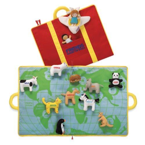 North American Bear TOY_FIGURE North American Bear Company World Activity Mat