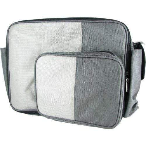 O Yikes! HANDBAG O Yikes Grey Messenger XL Bag