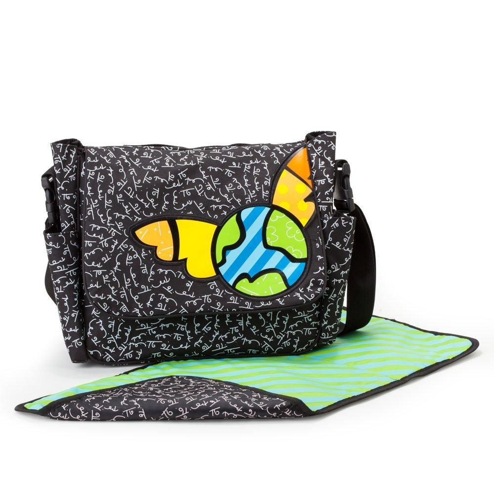 Plushible 10.5in Baby Britto Bebe From Enesco Diaper Messenger Bag by Gund