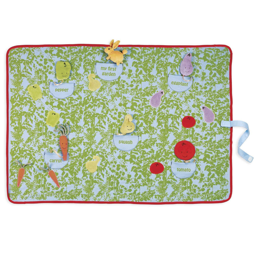 Plushible 36in Garden Hop Activity Blanket Mat by North American Bear Co.