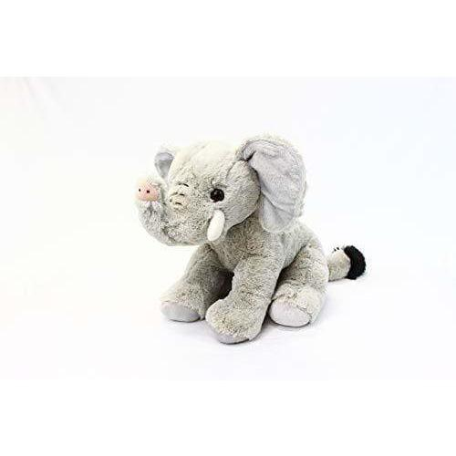 "PLUSHIBLE BRIDGING MILES WITH SMILES TOY_FIGURE Plushible Stuffed Jungle Animal for Kids - Big Stuffed Animal for Girls - 15.75"" (Elephant)"