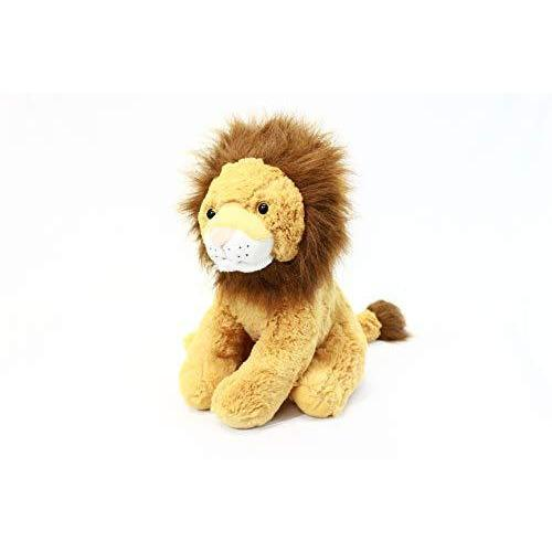 "PLUSHIBLE BRIDGING MILES WITH SMILES TOY_FIGURE Plushible Stuffed Jungle Animal for Kids - Big Stuffed Animal for Girls - 15.75"" (Lion)"