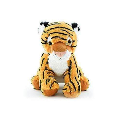 "PLUSHIBLE BRIDGING MILES WITH SMILES TOY_FIGURE Plushible Stuffed Jungle Animal for Kids - Stuffed Animal - 11.5"" (Tiger)"