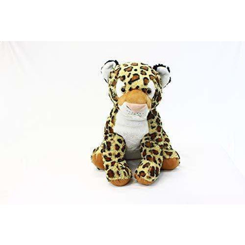 "PLUSHIBLE BRIDGING MILES WITH SMILES TOYS_AND_GAMES Plushible Stuffed Jungle Animal for Kids - Big Stuffed Animal for Girls - 15.75"" (Leopard)"