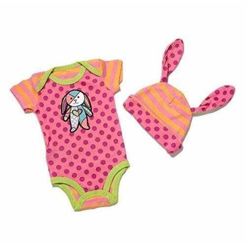 Plushible.com Baby Product Britto Bebe Girl 6-12 Months Onesie and Hat