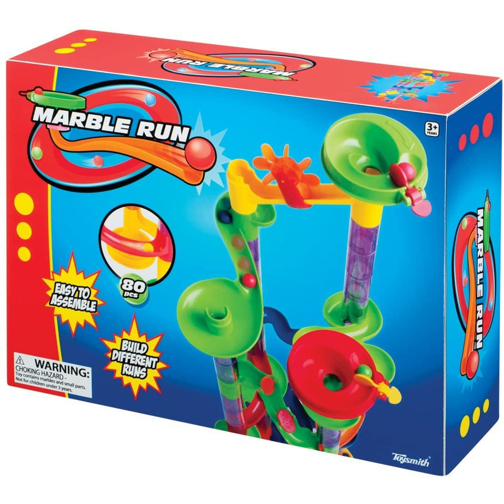 Plushible.com Toysmith 80-Piece Marble Run