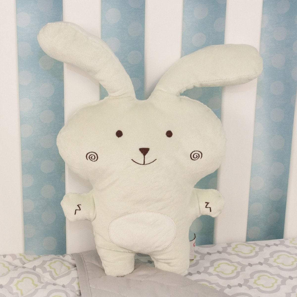 "Plushible ""Gracey"" the 10in Light Green Lil' Sprouts Bunnies by Gund"""