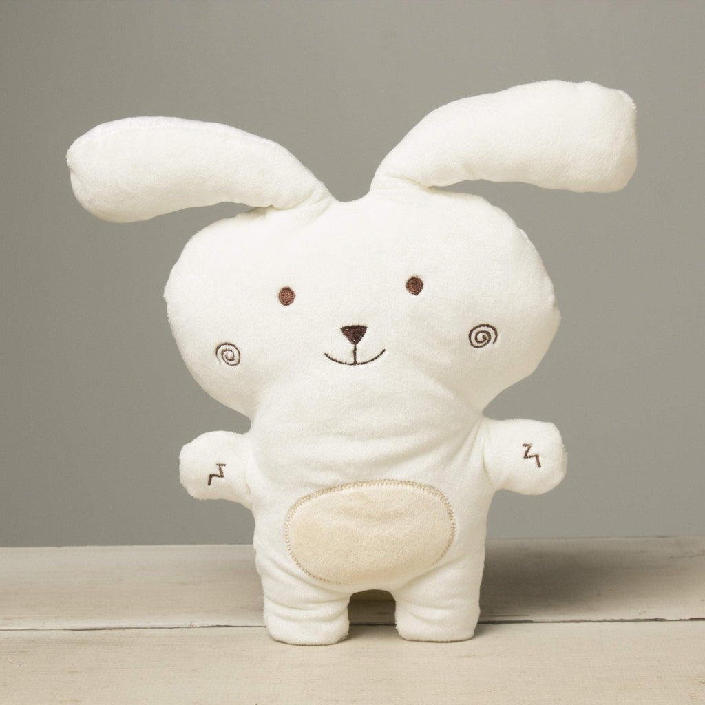 "Plushible ""Lacy"" the 10in White Lil' Sprouts Bunnies by Gund"""