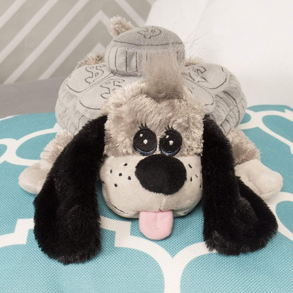 "Plushible Plush ""Hi-Ho"" the 12in Silver Dollar Grey Plush by The CuddleCakes Group"
