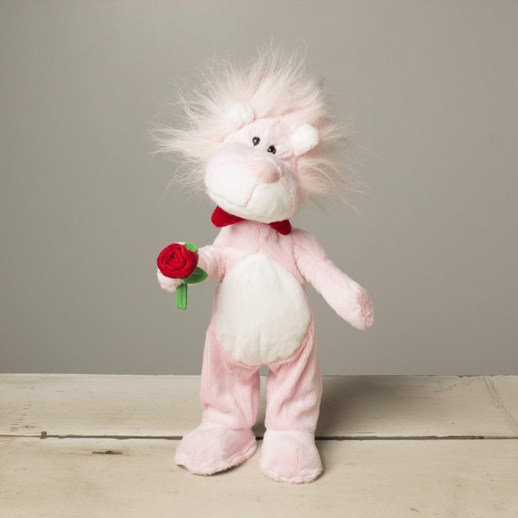 "Plushible ""Roarik"" the 15in Dancing and Singing Lion by Russ Berrie"