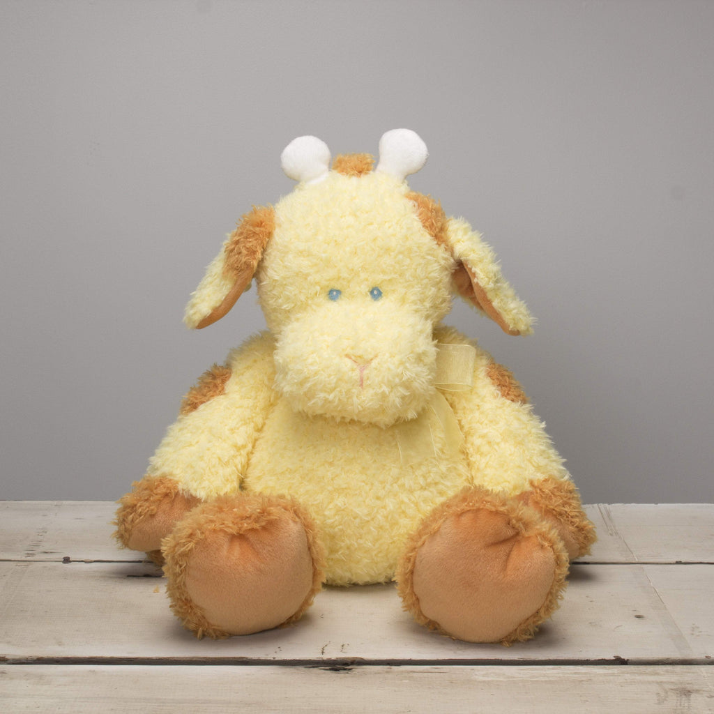 "Plushible ""Shorty"" the 22in Large Plush Stuffed Tubby Tummies Giraffe by Ganz"""