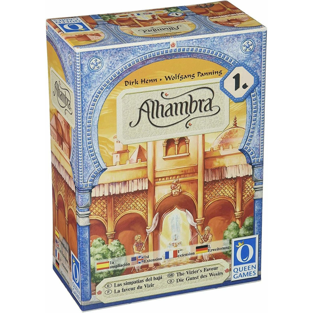 Queen Games Toy Alhambra - The Vizor's Favor (Discontinued by manufacturer)