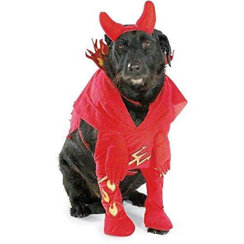 Rubie's PET_APPAREL Devils Dog Pet Costume - Pet Costumes