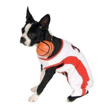 Rubie's PET_APPAREL Rubie's Basketball Player Dog Costume, Size XL 22-24""