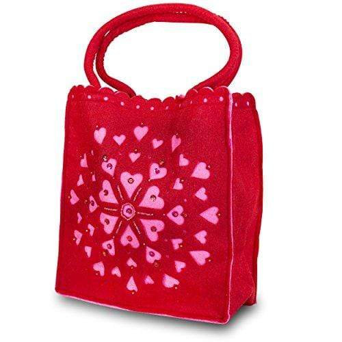 Russ Berrie HANDBAG Red Valentine's Day Tote