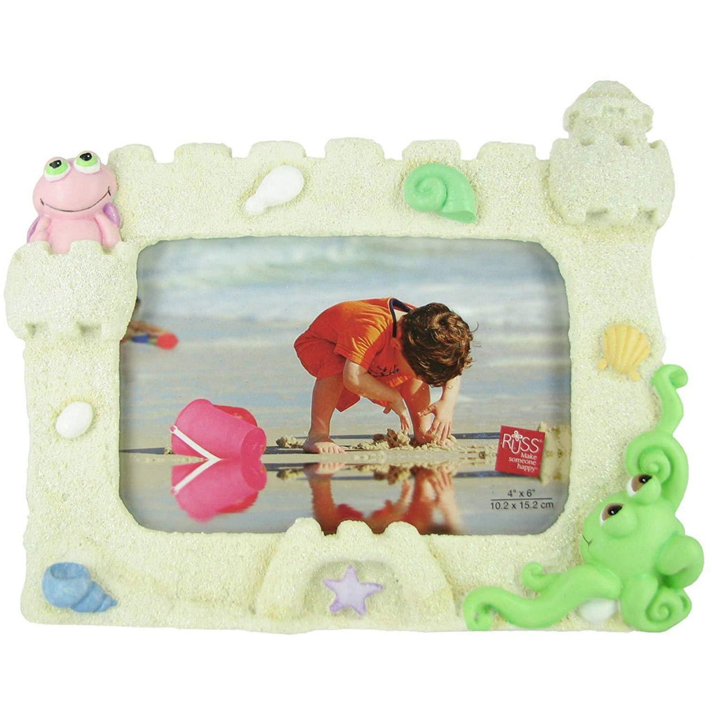 Russ Berrie Home Plush Peepers Beach Picture Frame by Russ Berrie