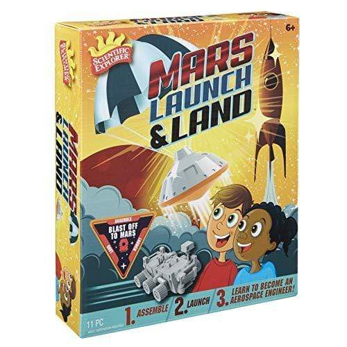 Scientific Explorer Mars Rover Launch & Land Kids Science Kit