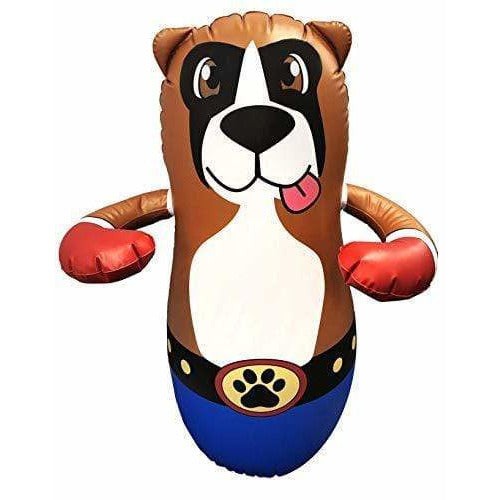 Taylor Toy SPORTING_GOODS Dog Taylor Toy Inflatable Punching Bag for Kids - Free-Standing Bounce Back Punching Bag - Bop Bag