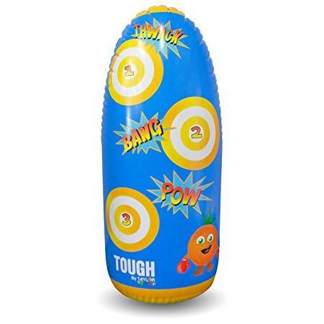 Taylor Toy SPORTING_GOODS Original Taylor Toy Inflatable Punching Bag for Kids - Free-Standing Bounce Back Punching Bag - Bop Bag
