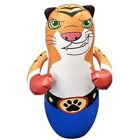 Taylor Toy SPORTING_GOODS Tiger Taylor Toy Inflatable Punching Bag for Kids - Free-Standing Bounce Back Punching Bag - Bop Bag