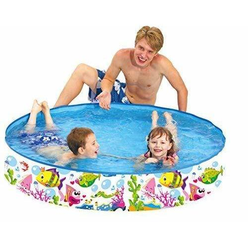 "Taylor Toy TOYS_AND_GAMES Taylor Toy Snapset Swimming Pool for Kids | Toddler and Baby Pool | 47"" Diameter x 10"" Depth, 59 Gallon Kiddie Pool 