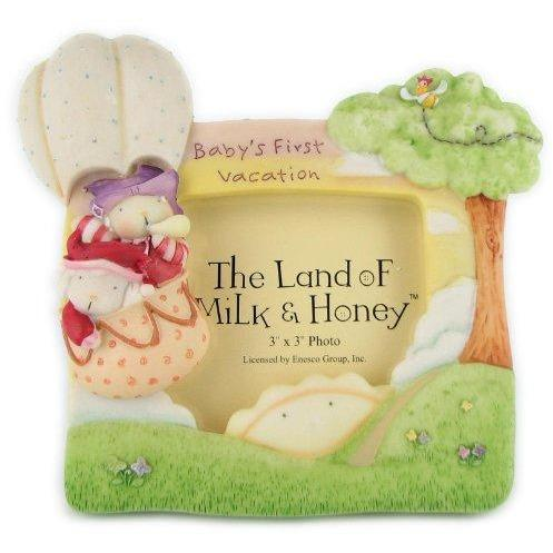 The Land of Milk & Honey BABY_PRODUCT The Land of Milk & Honey 'Baby's First Vacation' Frame by Enesco