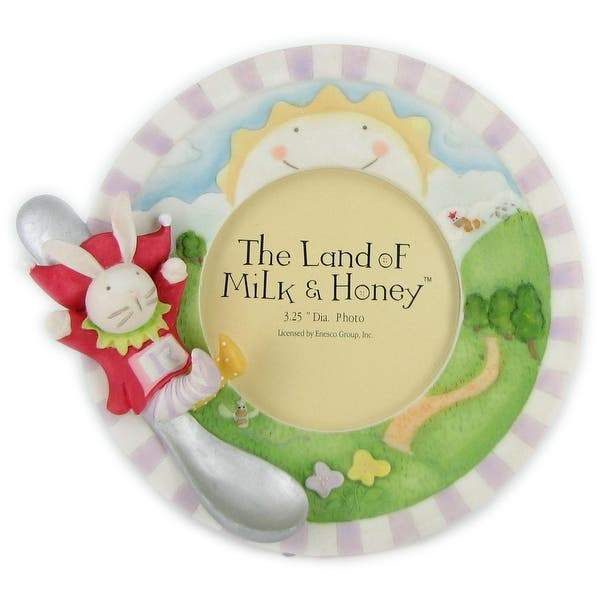 The Land of Milk & Honey BABY_PRODUCT The Land of Milk & Honey Frame by Enesco