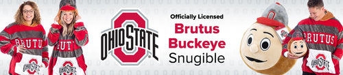 officially licensed brutus buckeye snuggie for sale