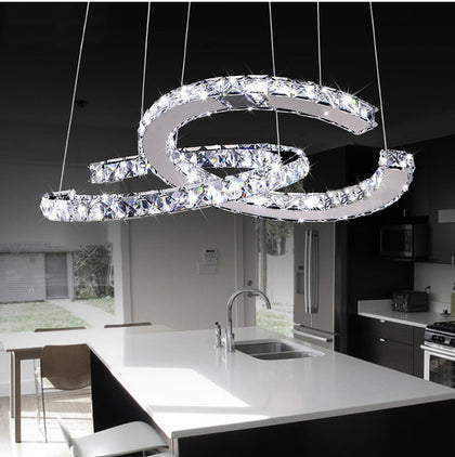 CC Crystal Chandelier