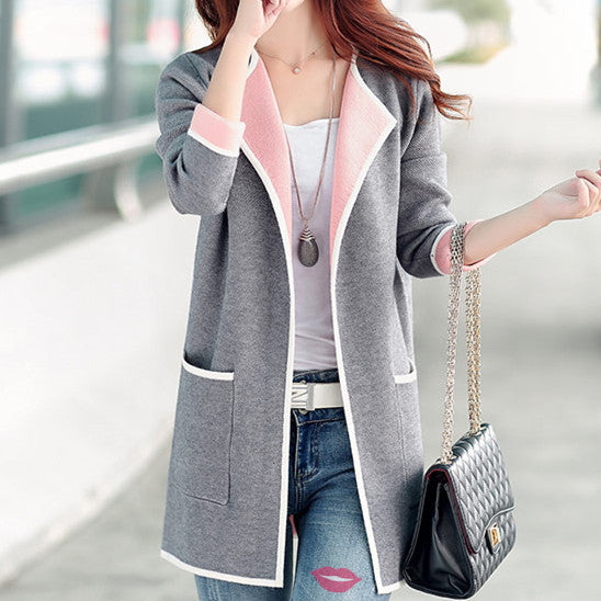 New Fashion  Open Long Sweater Blouse Shirt