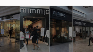 Compilation of four of the Mimmic Storefronts