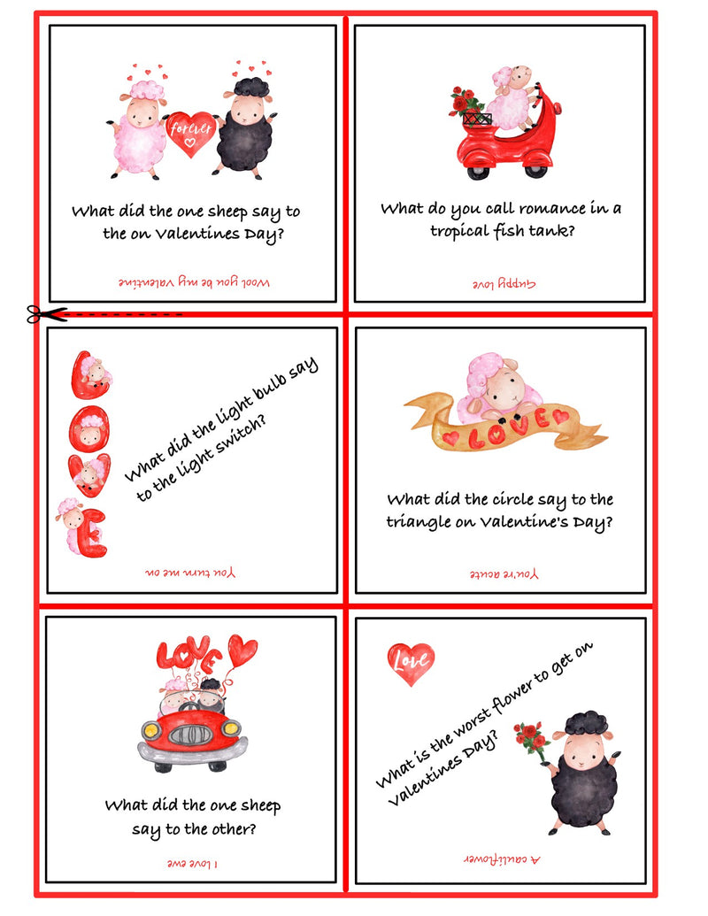 VALENTINE'S DAY FOR KIDS FREE PRINTABLE