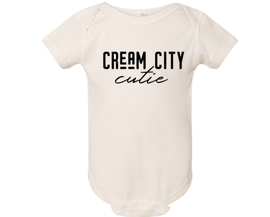 Cream City Cutie - Onesie