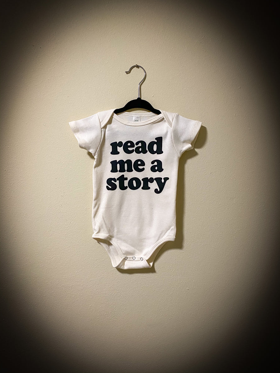 Read Me A Story Organic Onesie