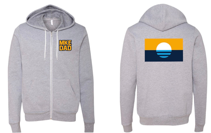 MKE DAD Zip-up Hoodie