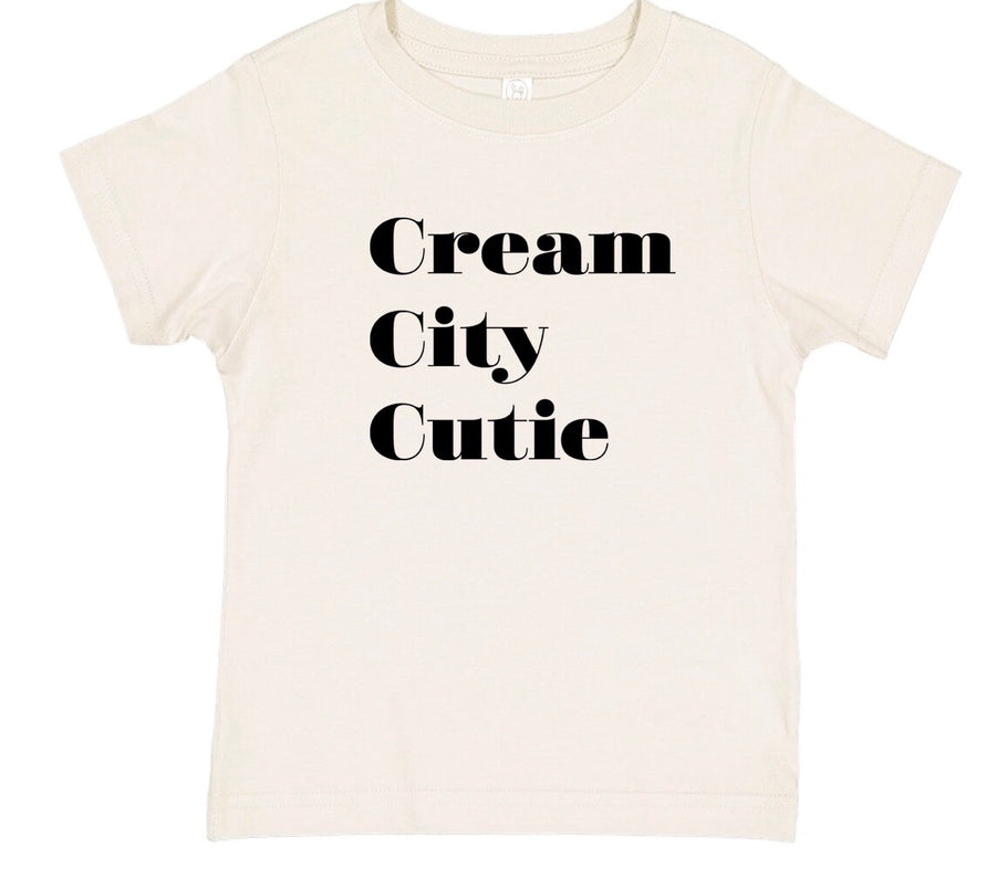 Cream City Cutie - Stacked Tee