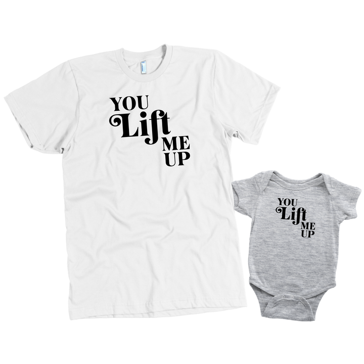 You Lift Me Up - Set of 2 Shirts