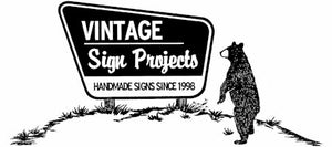 Vintage Sign Projects