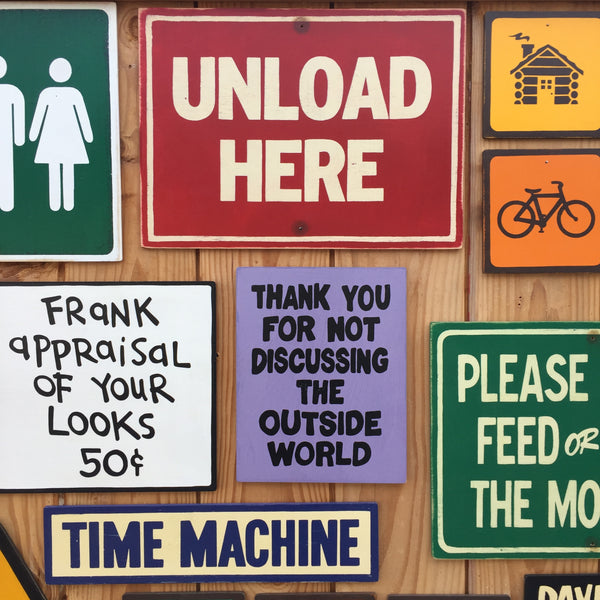 Unload Here Chairlift Sign | Handmade Vintage | Ski Hill Resort Sign | Great Sign For Ski lodge | Funny Bathroom Sign | Washroom | Restroom