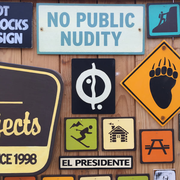No Public Nudity Sign | Handmade Vintage | Pool Sign | Beach Sign | Nude Beach | Skinny Dipping | Swimming Pool | Water