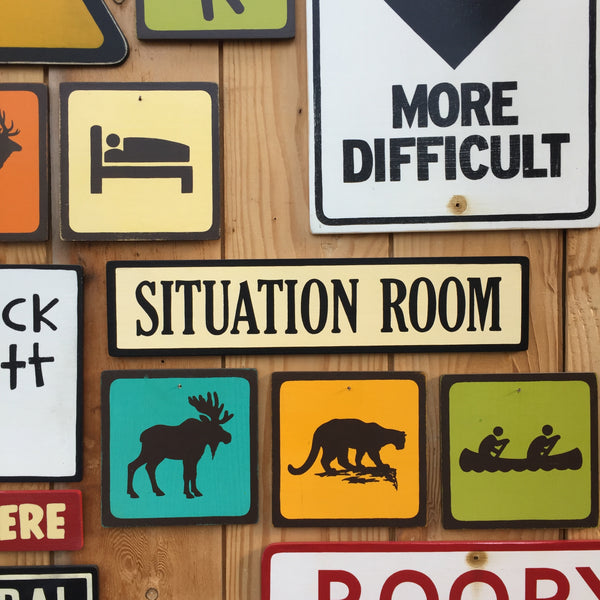"White House West Wing ""Situation Room"" Sign 