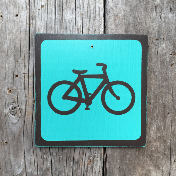 "Park Icon Sign ""Bicycle"" 