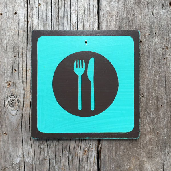 "Park Icon Sign ""Diner"" 