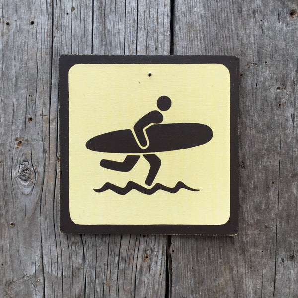 "Park Beach Icon Sign ""Surfer"" 