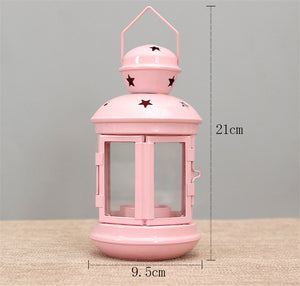 European Wedding Decor Metal Lantern /Candle Lantern Candlesticks